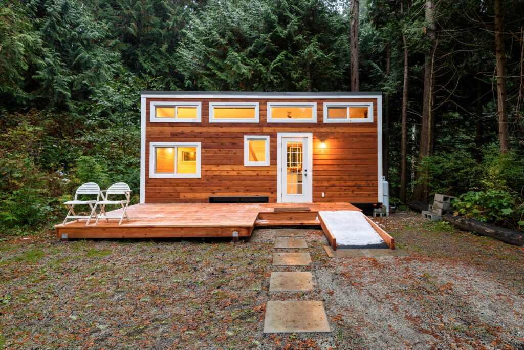 Tiny house in je tuin