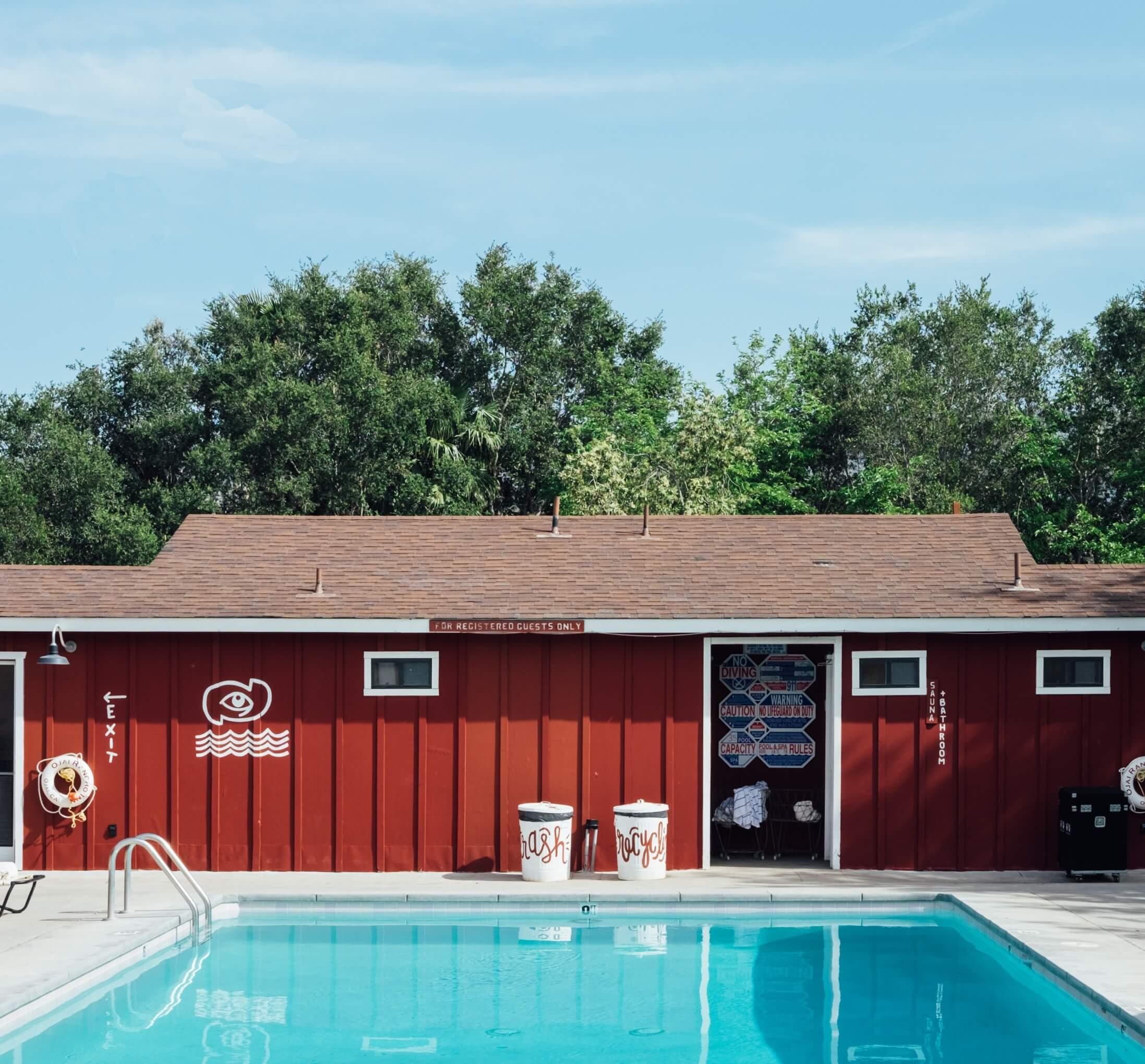 poolhouse landelijk